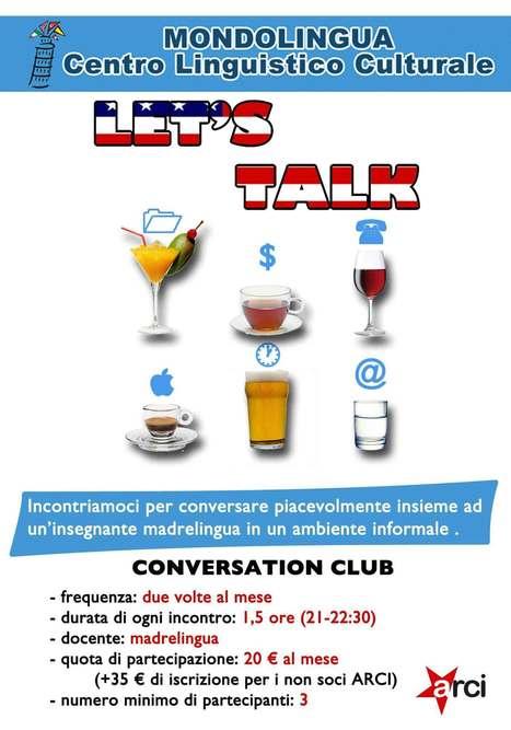 Conversation Club - Mondolingua   studiare le lingue a Pisa   Scoop.it