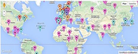 Proyecto colaborativo sobre TEJIDOS URBANOS de grandes ciudades - Urban Games 2012 | URBANmedias | Scoop.it
