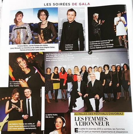 Retour sur la cérémonie des Femmes en Or dans Gala | Femme et Entreprise | Scoop.it