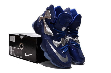 Lebron 13 Dark Blue Silver Sneaker,Discount Lebron 13 Dark Blue Silver Sneaker Sale | nike sneaker store | Scoop.it
