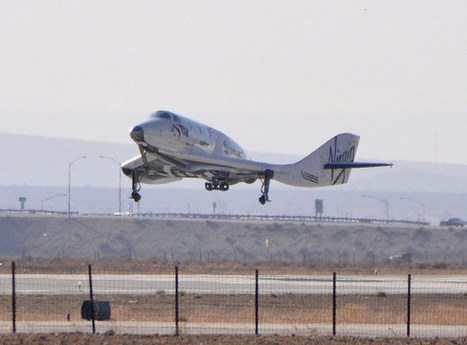 Virgin Galactic's SpaceShipTwo Rocket Test Heralds Rise of Passenger Space Travel | The NewSpace Daily | Scoop.it