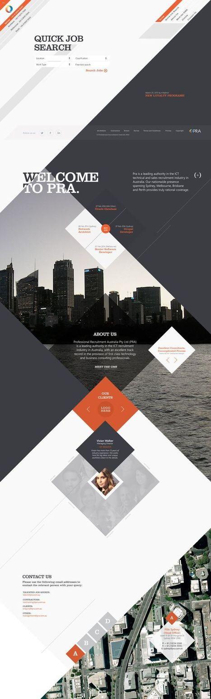 20+ Best Website Designs for Inspiration! Creative Stuff   Professional WordPress Themes Designs   Scoop.it