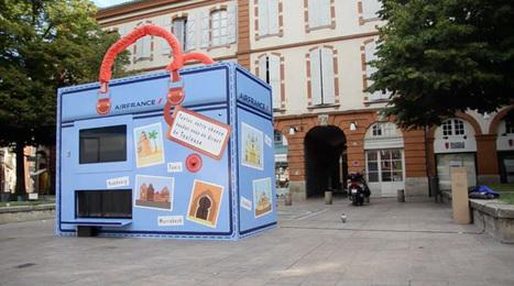 Toulouse: Air France installe un bandit manchot géant dans la rue | Advertising Maniacs | Scoop.it