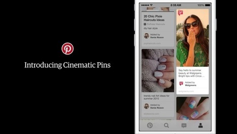 Pinterest Unveils Its First Video-Like Ad And New Ad Pricing Models | Pinterest | Scoop.it