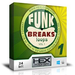 Download Funk Breaks - Drum Loops Vol 1 Samples | Hex Loops | melectro | Scoop.it