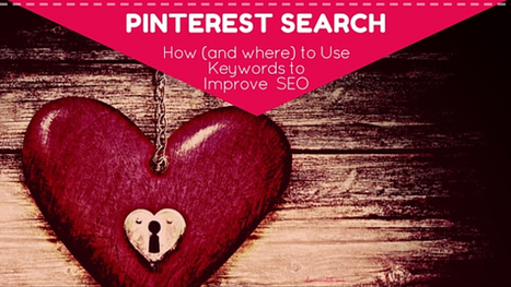 Pinterest Search - 11 Smart Places to Use Keywords for Better SEO | Artdictive Habits : Sustainable Lifestyle | Scoop.it