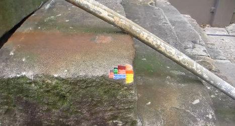 Olybop | Actualités Webdesign, Culture, Graphisme | » Impression 3D : Un coin de mur en Lego | CRAW | Scoop.it