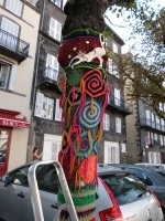 Yarn bombing et Festival International des Tissus Extraordinaires ... | Yarnbombing France | Scoop.it