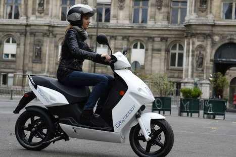 Des scooters électriques en libre-service à Paris | ParisBilt | Scoop.it
