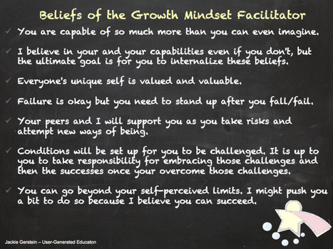 Being a Growth Mindset Facilitator | Mielikuvituskoulu | Scoop.it
