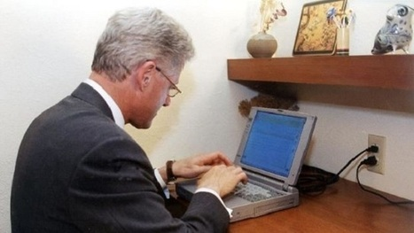 Laptop used by Clinton for first US presidential email auctioned for $60667 - Firstpost | concierge medicine | Scoop.it