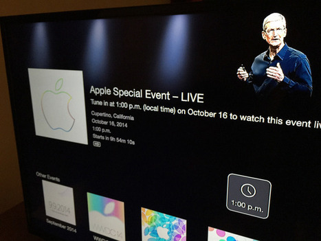 Apple TV channel for today's iPad and iMac event live stream is now available | Tech | Scoop.it