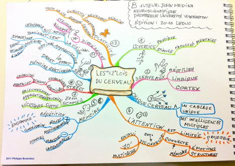 Deux solutions pour rendre vos mindmaps interactives en ligne | Teaching 2.0 | Scoop.it