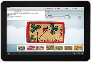 Derrière la porte facilite le travail de ses commerciaux avec des tablettes | Geckode: Développement Web et mobile | Scoop.it