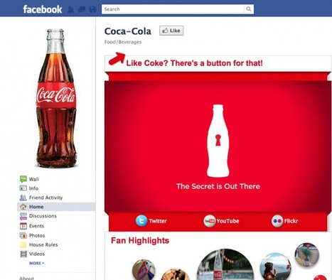 Coke No. 1 in social media marketing thanks to user-generated content   The Power of Social Media   Scoop.it