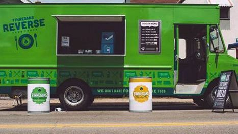 Reverse Food Truck Takes in Food to Feed the Hungry | Global Resolutions | Scoop.it