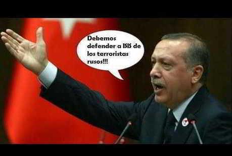 CNA: Erdogan grita lo que Occidente calla: ¡¡ DEBEMOS defender a ISIS de los TERRORISTAS RUSOS!!   La R-Evolución de ARMAK   Scoop.it