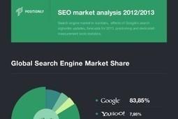 Global Search Engine Market Share Statistics - BrandonGaille.com | Social Media Marketing | Scoop.it