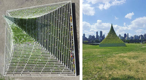 Agnes Denes's Living Pyramid | Art Installations, Sculpture, Contemporary Art | Scoop.it