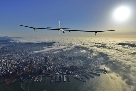 Solar plane crosses U.S., injects sexiness into the green conversation | Interest | Scoop.it