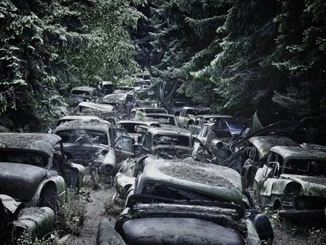 Quand les épaves de voitures deviennent des oeuvres d'art | Merveilles - Marvels | Scoop.it