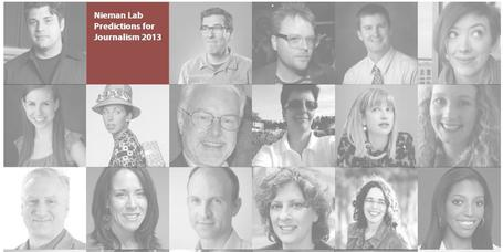 Predictions for Journalism 2013  »  Nieman Journalism Lab » Pushing to the Future of Journalism | Public Relations & Social Media Insight | Scoop.it