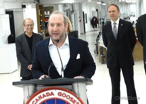 Canada Goose Opens Exchange District Factory - ChrisD.ca | Hot off the Net | Scoop.it