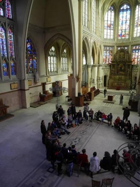 Rouen : Nuit Debout réveille les défenseurs del'église Saint-Nicaise | L'observateur du patrimoine | Scoop.it