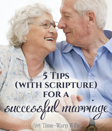 5 Tips (With Scripture) For a Successful Marriage | Time-Warp Wife - Empowering Wives to Joyfully Serve | Inspiration for Christian Women | Scoop.it