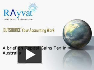Calculation of Australian Capital Gains Tax | Rayvat Accounting | Scoop.it