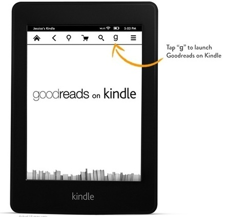 New Kindle Paperwhite Has Goodreads Built into Device - GalleyCat | Reading discovery | Scoop.it