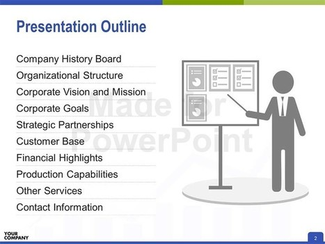 Company Profile PowerPoint Presentation | Editable & Ready-to-use PPT slides (information, maps, graphs, data) | Scoop.it