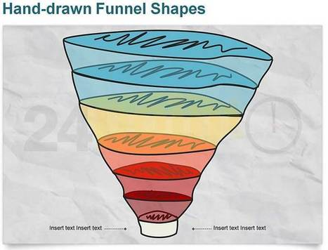 Funnel Diagram - Hand-drawn | PowerPoint - Maps, Templates, Diagrams, Illustrations and more! | Scoop.it
