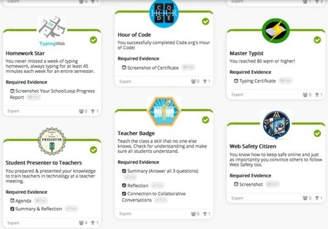 Open Badges from Edmodo to Badgelist.com | Digital Badges | Scoop.it
