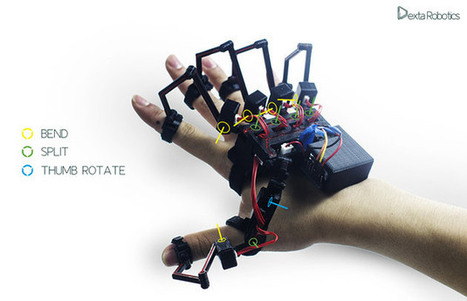 Exoskeleton for your hand lets you feel virtual objects and control robots | Innovating Ideas in Education | Scoop.it