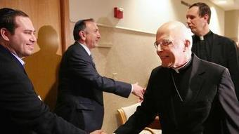 Back from conclave, George visits synagogue - Chicago Tribune | Religion and Public Discourse | Scoop.it