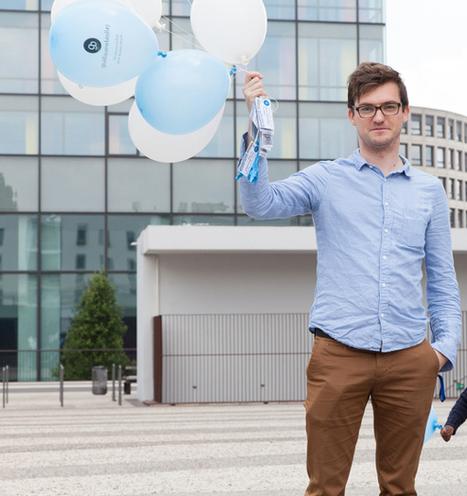 Un lâcher de ballons pour trouver un job dans la communication | Insolites | Scoop.it