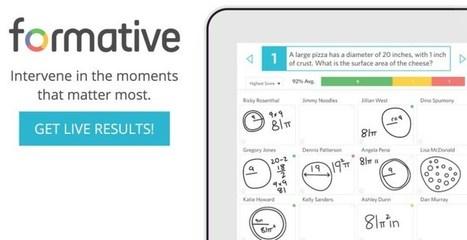 Formative. Interrogez vos élèves en ligne – Les Outils Tice | Les outils du Web 2.0 | Scoop.it
