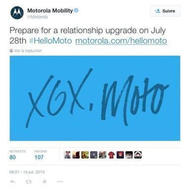 La nouvelle génération de smartphones Motorola annoncée fin juillet - Le Parisien | Marketing Digital et Internet | Scoop.it