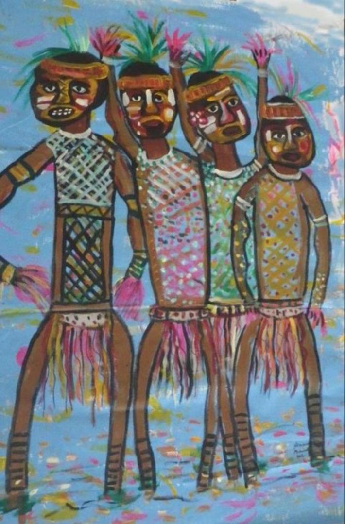 Les peintres canaques investissent le CMA | Polynésie 1ère | Kiosque du monde : Océanie | Scoop.it