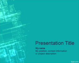 Cyberspace PowerPoint Template | Free Powerpoint Templates | business series | Scoop.it