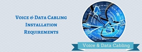 WireGuys Blog: Voice and Data Cabling Installation Requirements for Your Business | Network cabling | Scoop.it