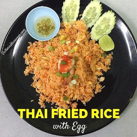 Thai Fried Rice with Egg | Best Easy Recipes | Scoop.it