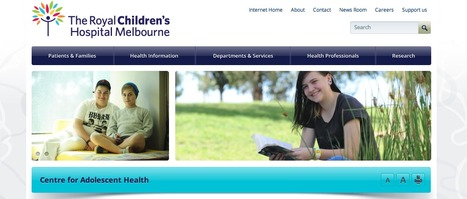 Centre for Adolescent Health | CCW Yr 8 Adolescence & Relationships | Scoop.it