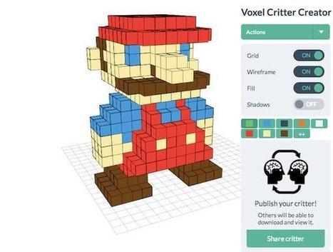 Voxel Builder, para crear nuestras figuras en 3D | LabTIC - Tecnología y Educación | Scoop.it