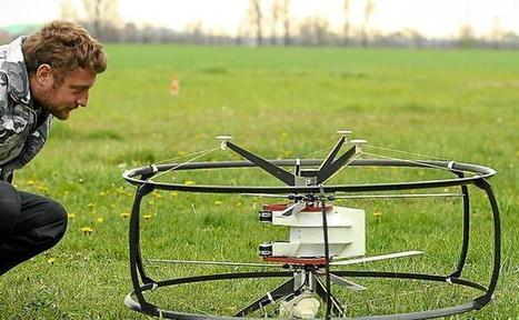 Vol au-dessus d'un nid de drones - 20minutes.fr   Technologies, TIC, Drones, Villes Intelligentes, internet des objets et autres innovations   Scoop.it