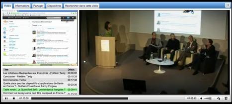 VIDEO - Quantified Self : le patient se réapproprie sa santé ! en intégralité   le monde de la e-santé   Scoop.it