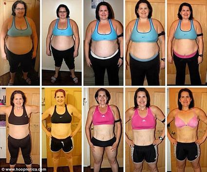 Hula Hoop Helps Woman Lose Massive Weight | Strange days indeed... | Scoop.it