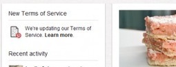 Changes to Pinterest's Terms ofService | Pinterest | Scoop.it