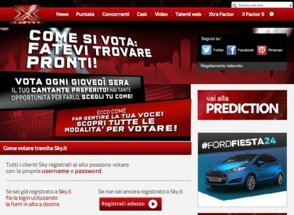 Social & multi-screen TV Case Study: The X Factor Italy | | MIPBlogMIPBlog | Digital News for the Roofers | Scoop.it